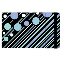 Blue Transformation Apple Ipad 3/4 Flip Case by Valentinaart