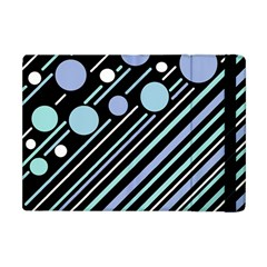 Blue Transformation Apple Ipad Mini Flip Case by Valentinaart
