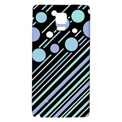 Blue Transformation Galaxy Note 4 Back Case by Valentinaart