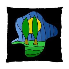 Landscape Standard Cushion Case (one Side) by Valentinaart