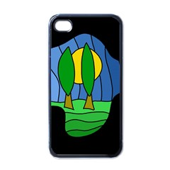 Landscape Apple Iphone 4 Case (black) by Valentinaart