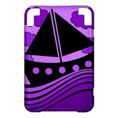 Boat - purple Kindle 3 Keyboard 3G