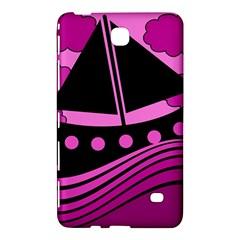 Boat   Magenta Samsung Galaxy Tab 4 (8 ) Hardshell Case  by Valentinaart