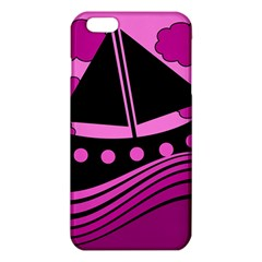 Boat   Magenta Iphone 6 Plus/6s Plus Tpu Case by Valentinaart