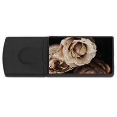 Roses Flowers Usb Flash Drive Rectangular (4 Gb)  by vanessagf