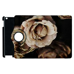 Roses Flowers Apple Ipad 3/4 Flip 360 Case by vanessagf