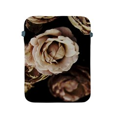 Roses Flowers Apple Ipad 2/3/4 Protective Soft Cases by vanessagf