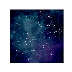Constellations Small Satin Scarf (square)