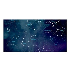Constellations Satin Shawl