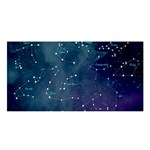 Constellations Satin Shawl Front