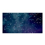 Constellations Satin Wrap Front