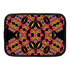 Two Heart Netbook Case (medium)  by MRTACPANS