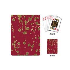 Elegant Art Playing Cards (mini)  by Valentinaart