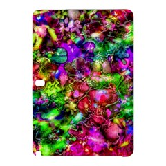 Pink Floral Abstract Samsung Galaxy Tab Pro 12 2 Hardshell Case by KirstenStar