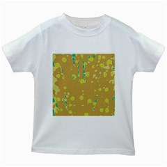 Digital Art Kids White T Shirts by Valentinaart