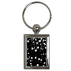 Black Dream  Key Chains (rectangle)  by Valentinaart