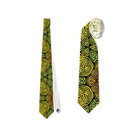 Camo Abstract Shell Pattern Neckties (two Side)  by TanyaDraws