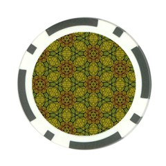 Camo Abstract Shell Pattern Poker Chip Card Guards (10 Pack)  by TanyaDraws