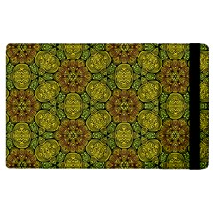 Camo Abstract Shell Pattern Apple Ipad 2 Flip Case by TanyaDraws