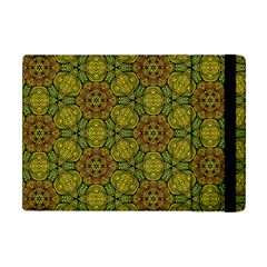Camo Abstract Shell Pattern Apple Ipad Mini Flip Case