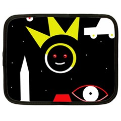 Stay Cool Netbook Case (xxl)  by Valentinaart