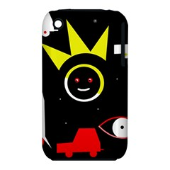 Stay Cool Apple Iphone 3g/3gs Hardshell Case (pc+silicone) by Valentinaart