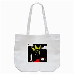Stay Cool Tote Bag (white) by Valentinaart