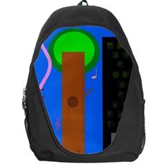 Growing  Backpack Bag by Valentinaart