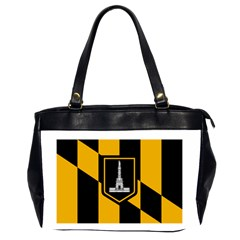 Flag Of Baltimore  Office Handbags (2 Sides)  by abbeyz71