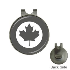 Low Visibility Roundel Of The Royal Canadian Air Force Hat Clips With Golf Markers by abbeyz71