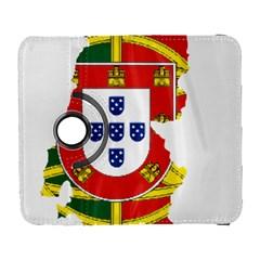 Flag Map of Portugal Samsung Galaxy S  III Flip 360 Case by abbeyz71