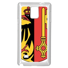 Coat of Arms of Geneva Canton  Samsung Galaxy Note 4 Case (White) by abbeyz71