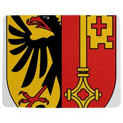 Coat of Arms of Geneva Canton  Jigsaw Puzzle Photo Stand (Rectangular) by abbeyz71