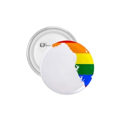 LGBT Flag Map of Florida 1.75  Buttons by abbeyz71
