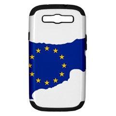 European Flag Map Of Cyprus  Samsung Galaxy S Iii Hardshell Case (pc+silicone) by abbeyz71