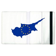European Flag Map Of Cyprus  Apple Ipad 2 Flip Case by abbeyz71