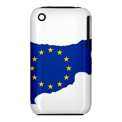 European Flag Map Of Cyprus  Apple Iphone 3g/3gs Hardshell Case (pc+silicone) by abbeyz71