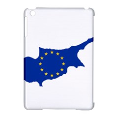 European Flag Map Of Cyprus  Apple Ipad Mini Hardshell Case (compatible With Smart Cover) by abbeyz71