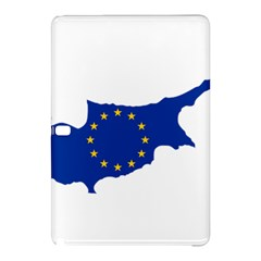 European Flag Map Of Cyprus  Samsung Galaxy Tab Pro 10 1 Hardshell Case by abbeyz71