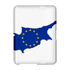 European Flag Map of Cyprus  Amazon Kindle Fire (2012) Hardshell Case by abbeyz71