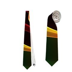 Crystal Rainbow, Abstract Winds Of Love  Neckties (two Side)  by DianeClancy