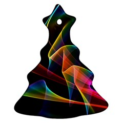 Crystal Rainbow, Abstract Winds Of Love  Ornament (christmas Tree) by DianeClancy