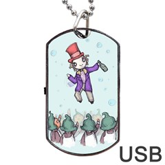 Fizzy Lifting Dog Tag USB Flash (One Side) by lvbart