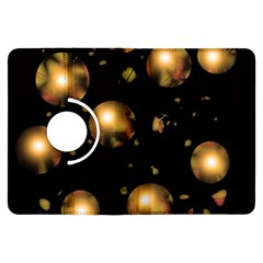 Golden balls Kindle Fire HDX Flip 360 Case by Valentinaart