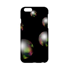 Silver Pearls Apple Iphone 6/6s Hardshell Case by Valentinaart