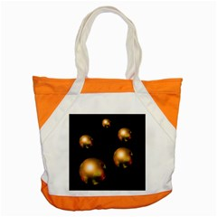 Golden Pearls Accent Tote Bag by Valentinaart