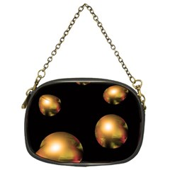 Golden Pearls Chain Purses (one Side)  by Valentinaart