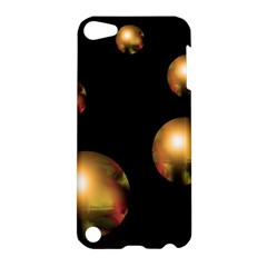 Golden Pearls Apple Ipod Touch 5 Hardshell Case by Valentinaart