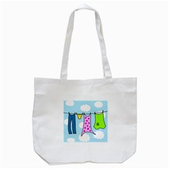 Laundry Tote Bag (white) by Valentinaart