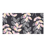 Winter Foliage Satin Wrap